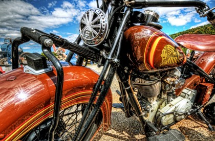 red indian motorcycle