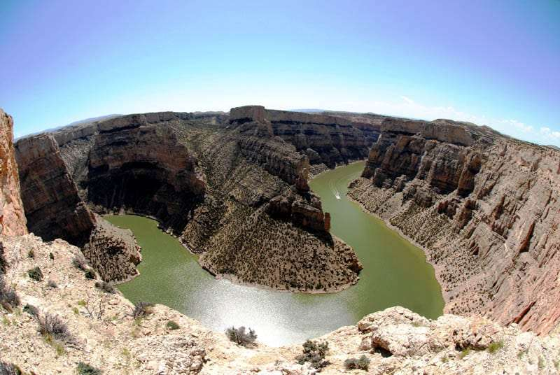 Bighorn Canyon, on Montana and Wyoming border