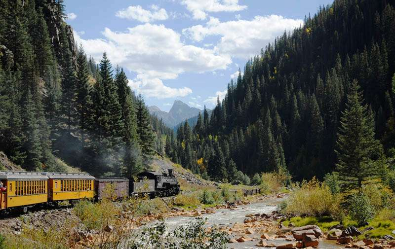Durango to Silverton Railway, Colorado