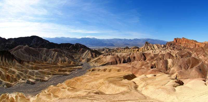 Zabriski Point, Death Valley, Nevada