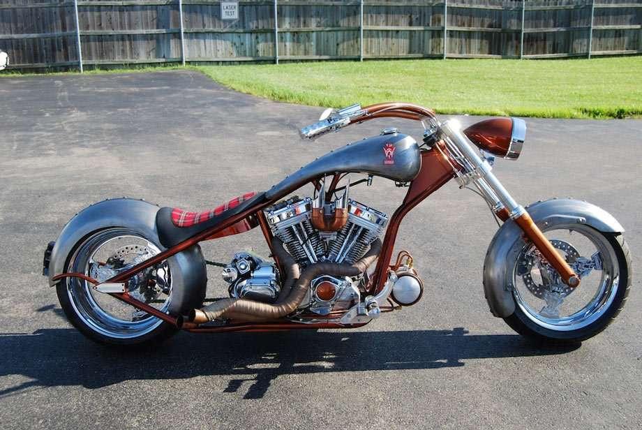 Jeff's custom bike