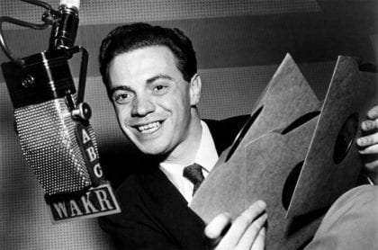 Alan Freed, the man who is credited with coining the term 'Rock n' Roll'