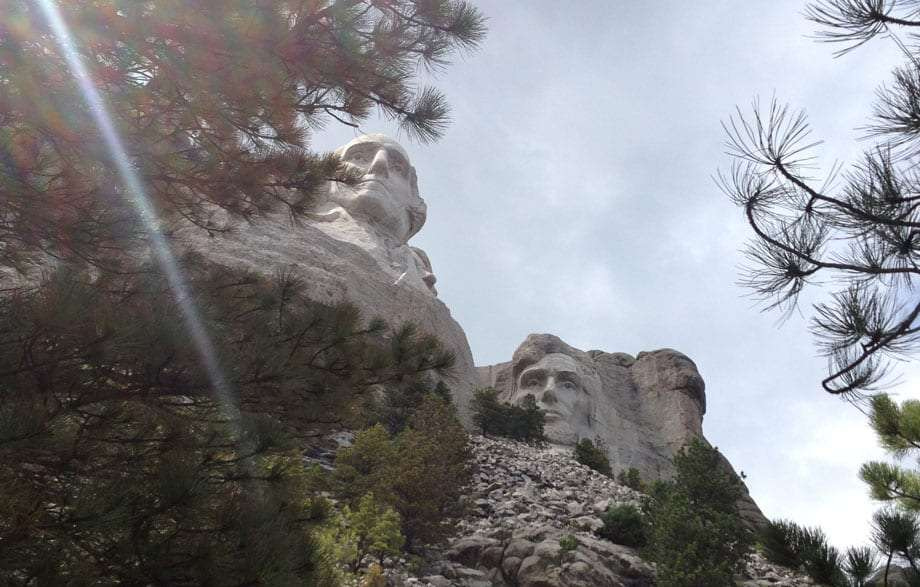 lincoln and washington, mt. rushmore