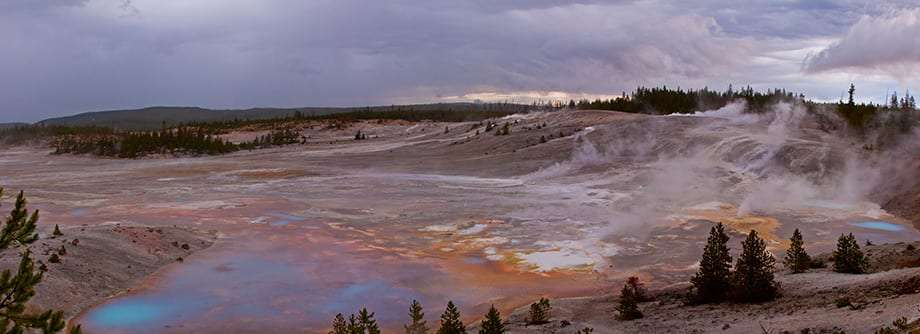 Hot Springs in Yellowstone