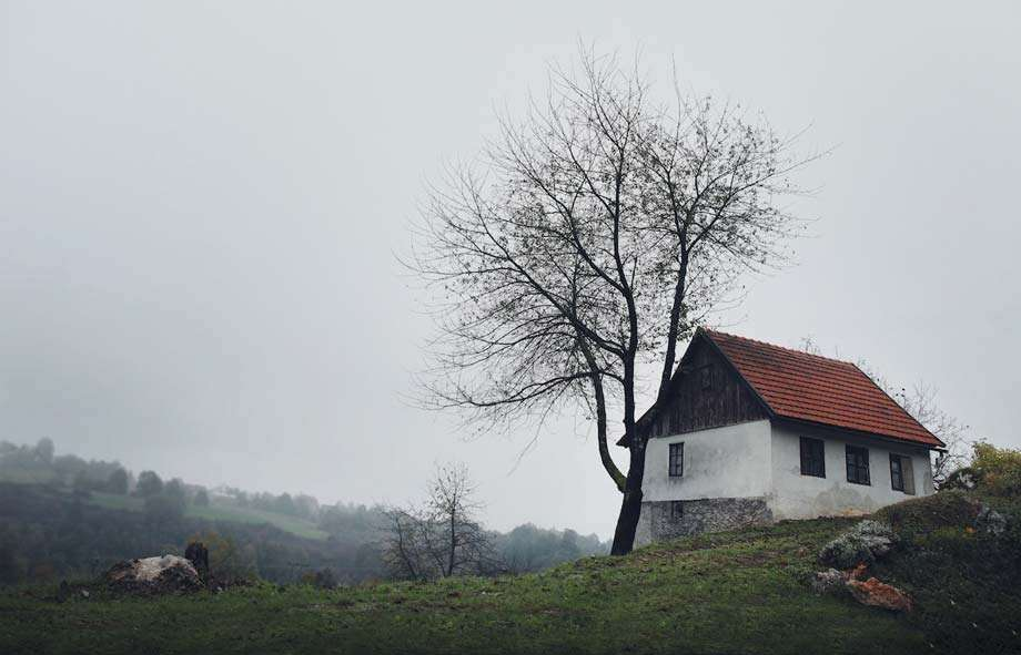 a small farmhouse in croatia