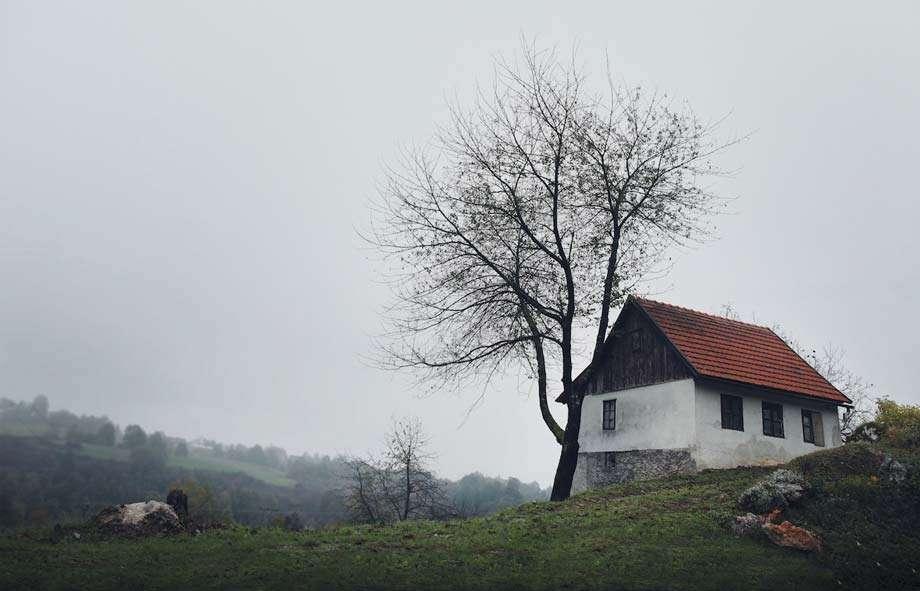 a small farmhouse in croatia