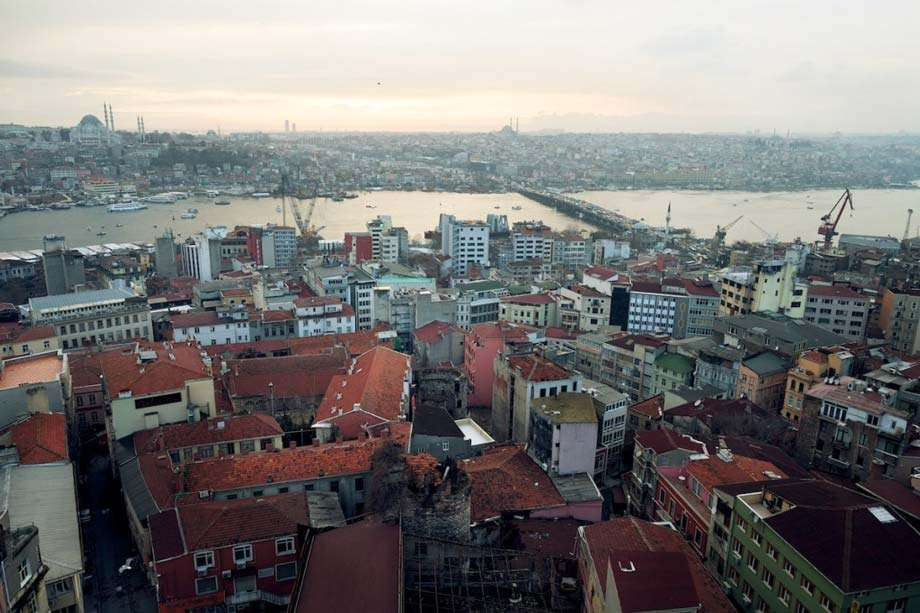 the city of instanbul