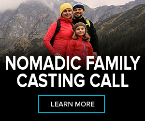advertisement: nomadic family casting call
