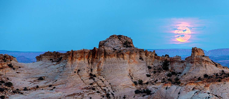 the sky bleeds legend over the terrain mystique of utah high country