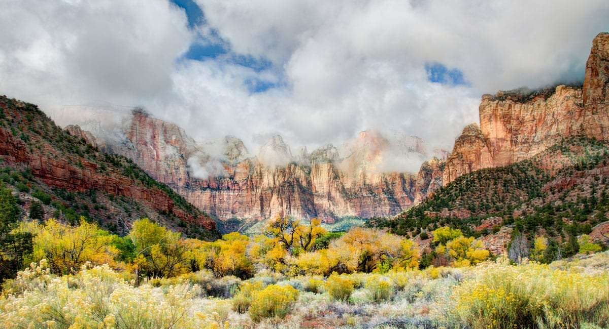 Rv Rent To Own >> Secluded Hiking in Zion National Park, Hidden Canyon