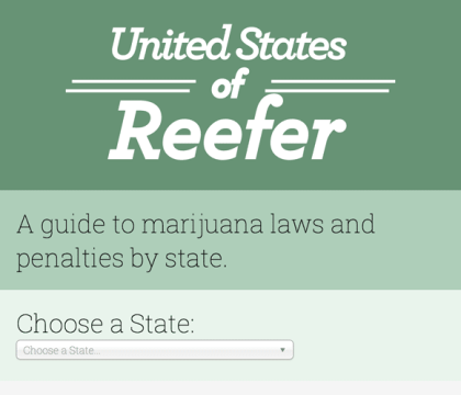 United States of Reefer - pot laws in the US app