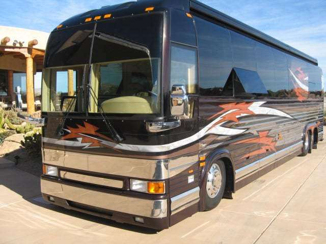 Example of a Class A RV. Photo courtesy of Wikipedia.