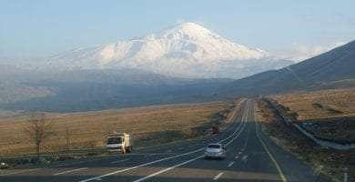 Ararat, Turkey, Armenia, hitchhiking, roads, wandering, journey
