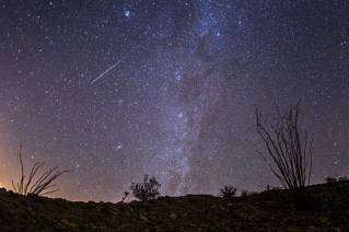 The night sky like one rarely finds in the US, at Anza-borrego State Park in California. Photo by Kevin.