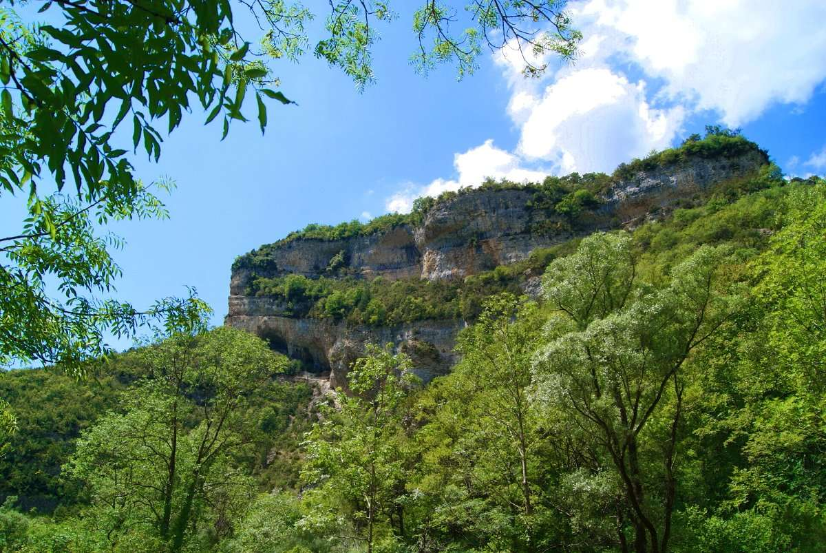 Chute de la Druise, France, hitchhiking, travel, adventure, stealth camping, wild swimming