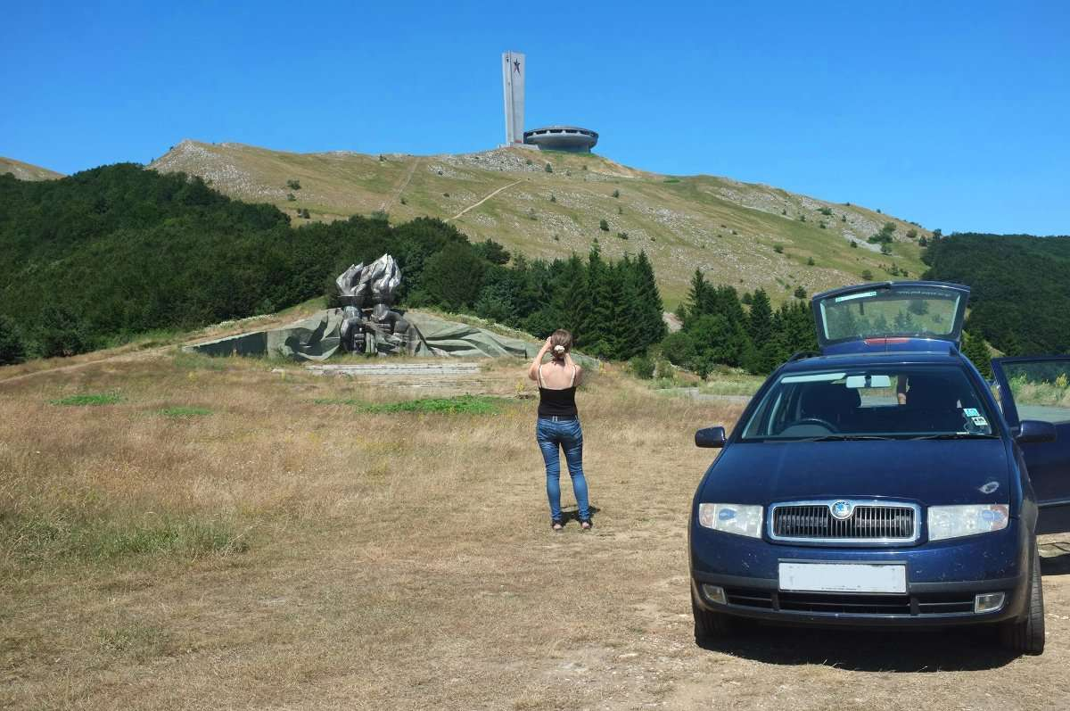 Buzludzha, Bulgaria, roadtrip, hitchhiking