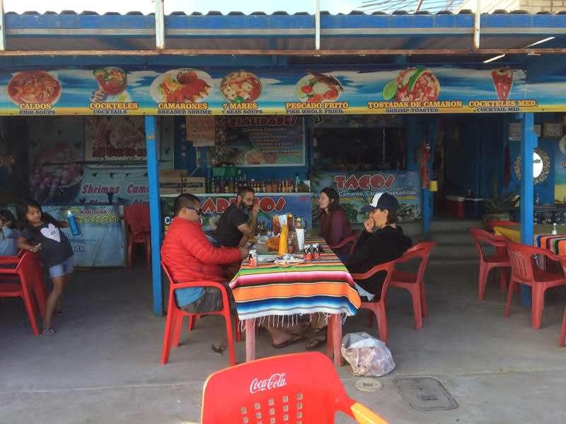 a mariscopa (seafood) restaurant