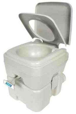 a portable toilet for RVs