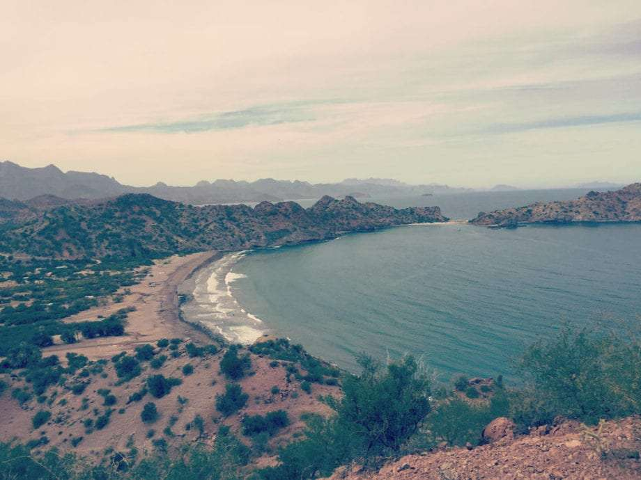 Overlooking Agua Verde along the Sea of Cortez in Baja California Sur.