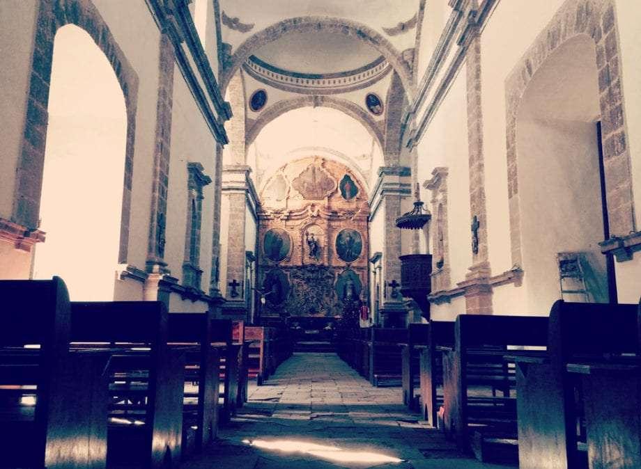 Misión San Ignacio Kadakaamán in San Ignacio, Baja California Sur.