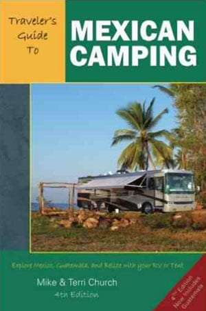 cover of the Church and Church guide to camping in Mexico