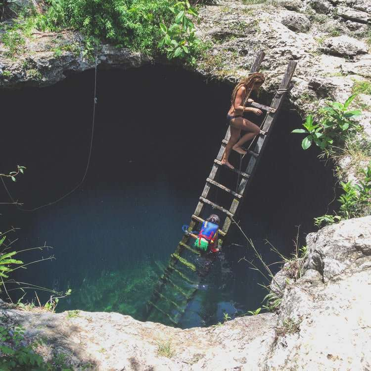 cenote tulum mexico cheap and private
