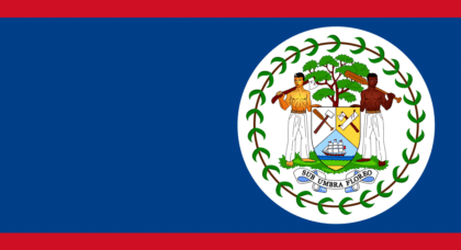 the belizean flag