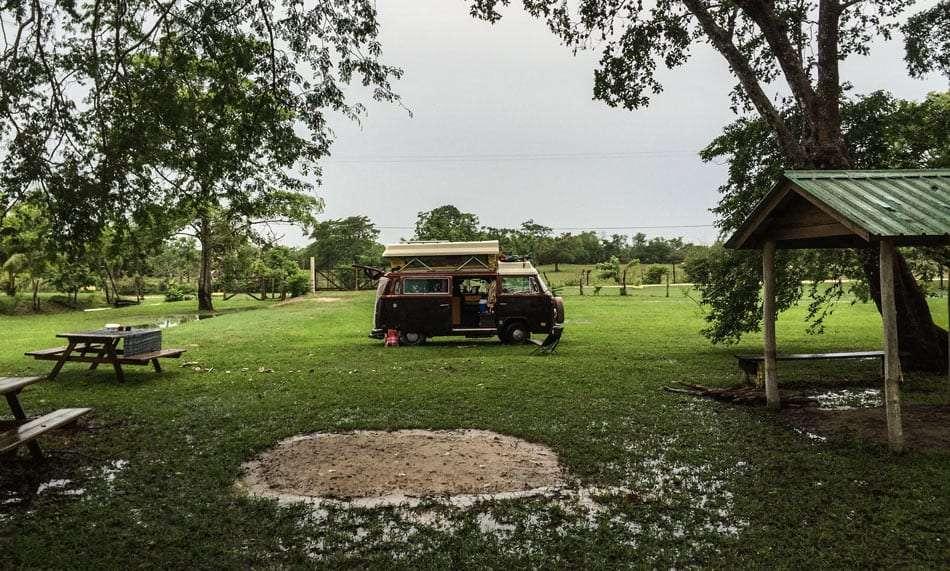 campground on crooked tree wildlife sanctuary