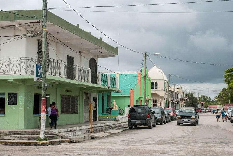 Corozal Town streets