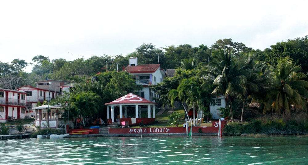 a hostel on the water