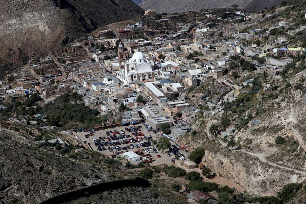 the town of Real de Catorce