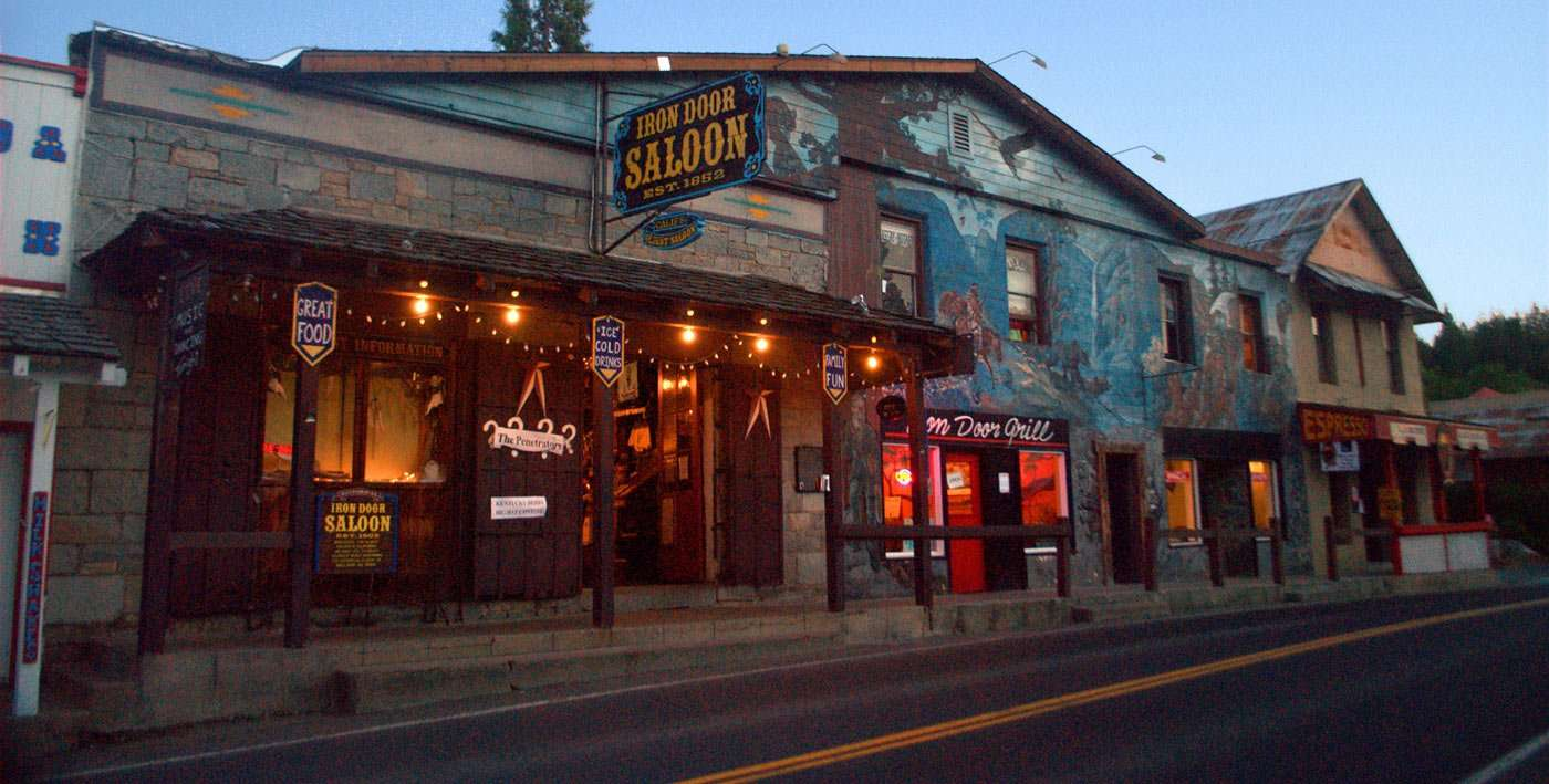 the iron door saloon
