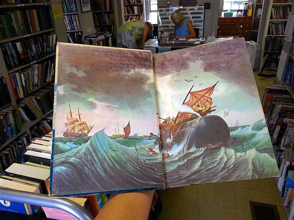 an illustrated book of the sea
