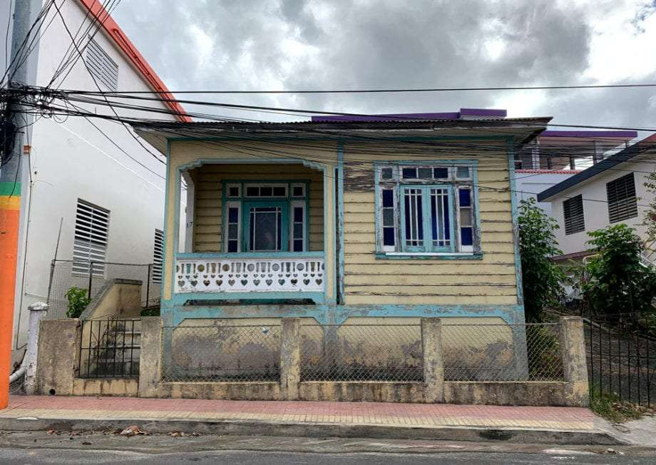 a wooden home in puerto rico
