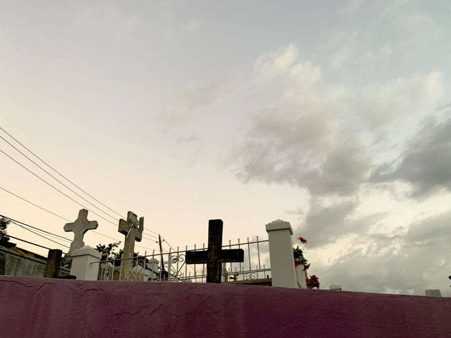 A cemetery in Puerto Rico