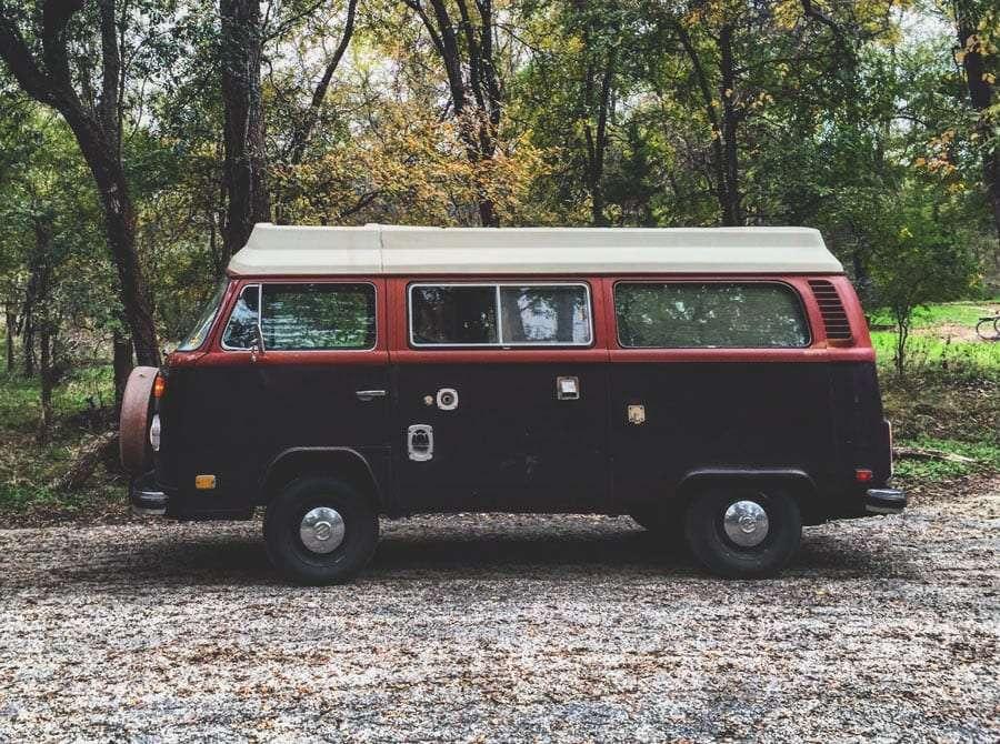 a 1978 VW Bus