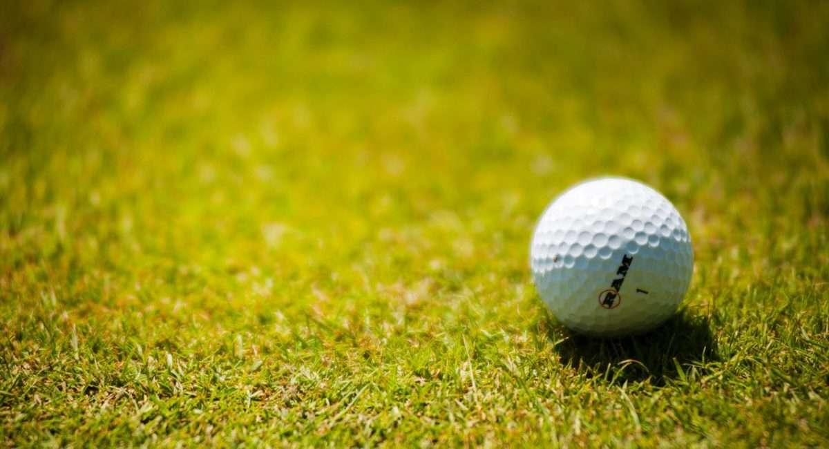 a golf ball