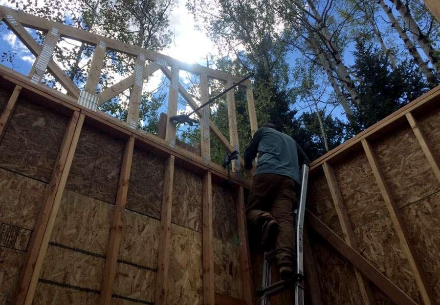 hanging trusses