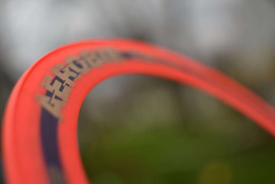a ring of a frisbee