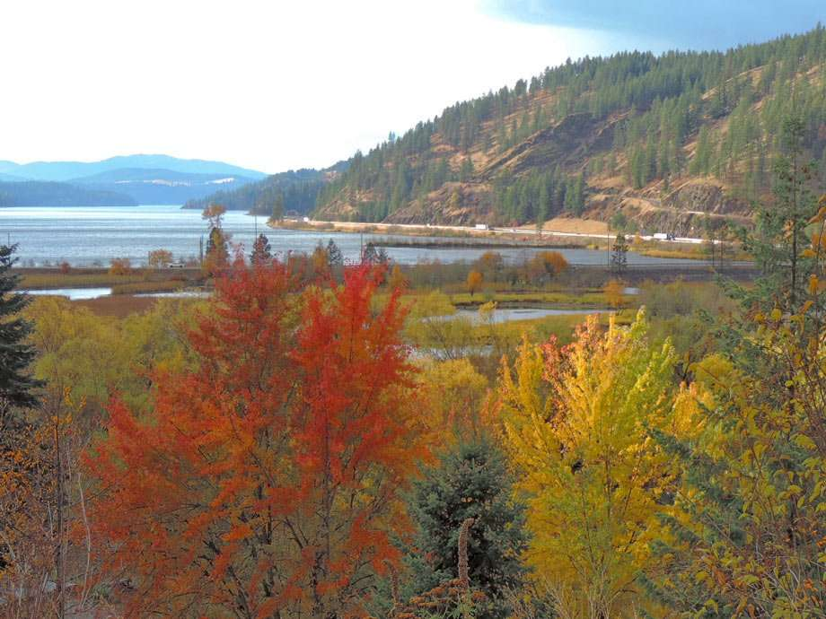 Workamping views in couer d'alene, Idaho, during fall
