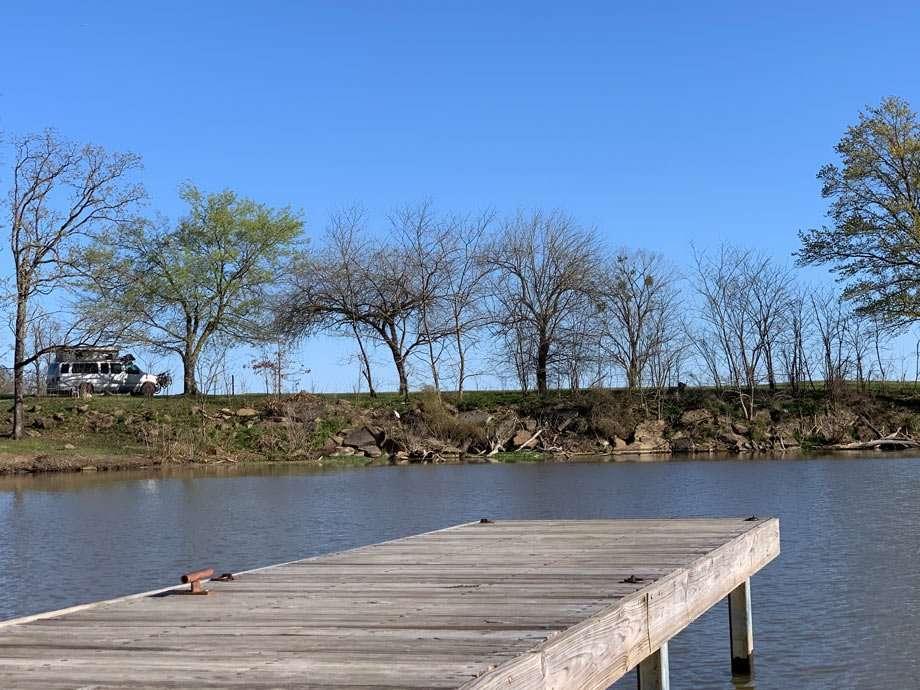 the dock at cowlington point oklahoma