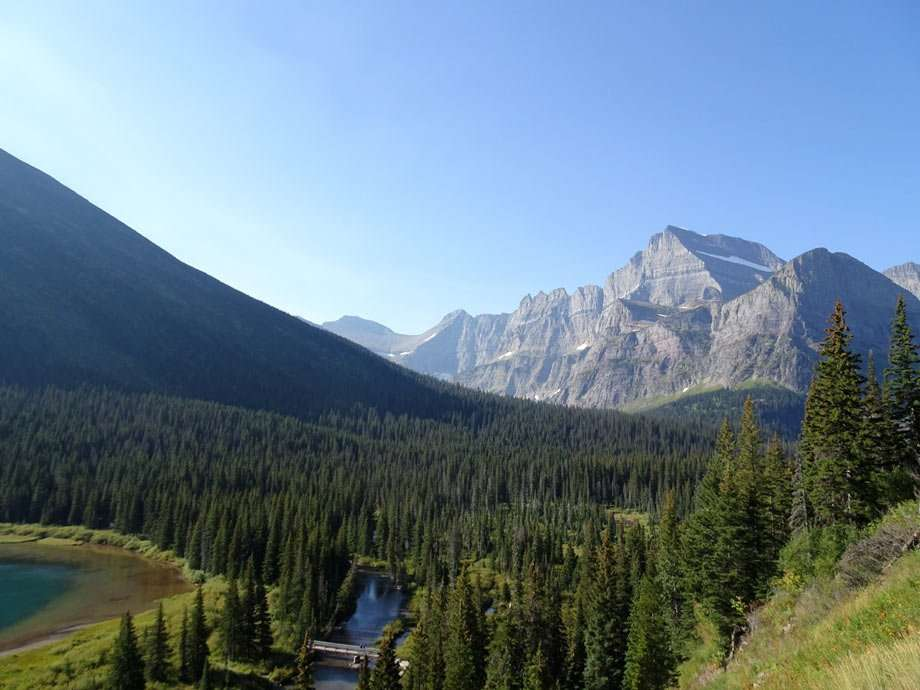 rugged, untamed and expansive beauty in nature's landscape at Glacier