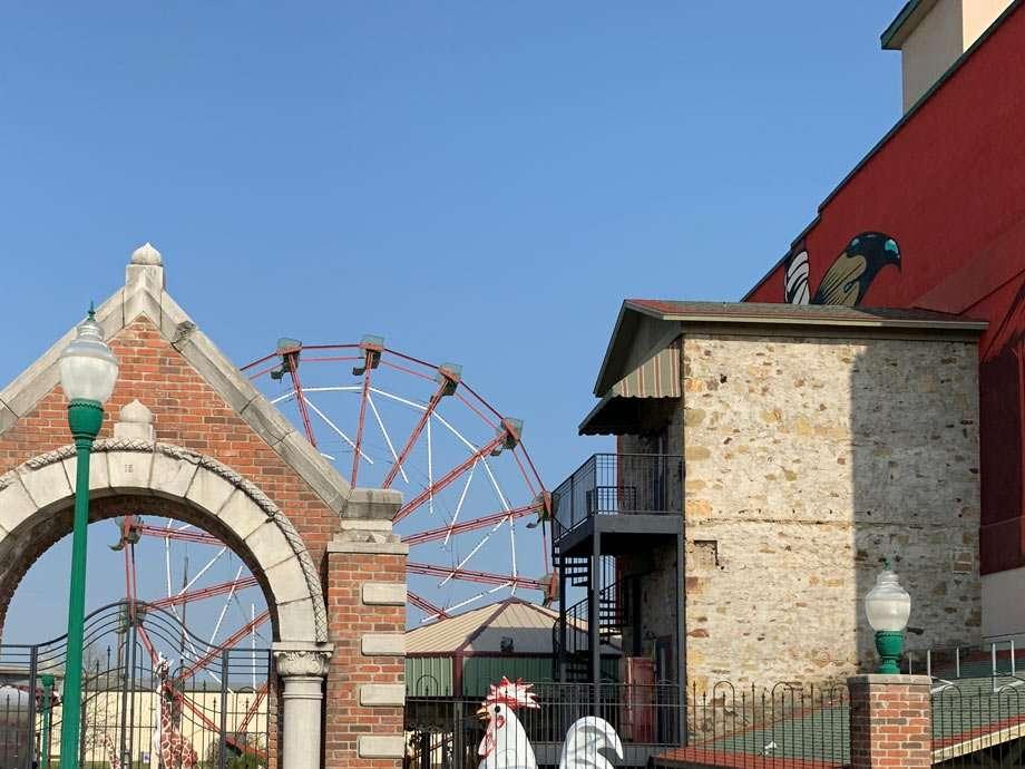 Fort Smith, Arkansas ferris wheel