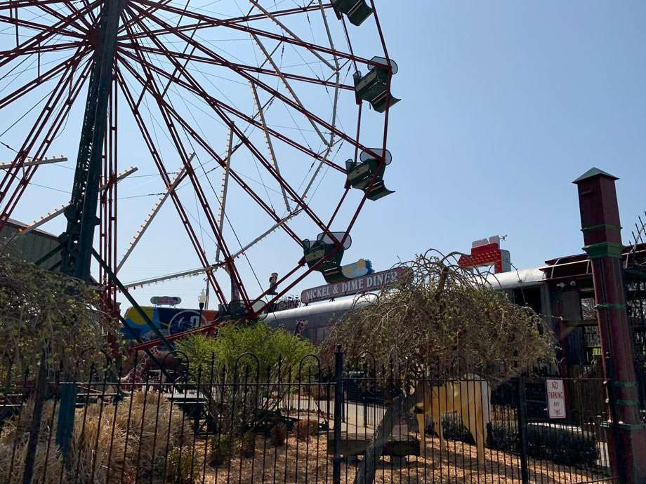 ferris wheel and concession stands in Fort Smith, Arkansas