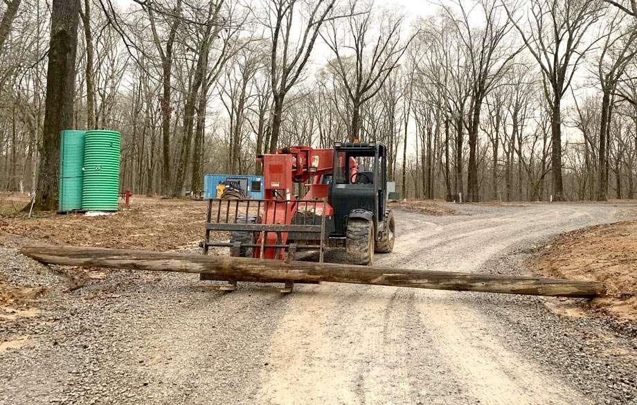 road closed at storm creek lake campground