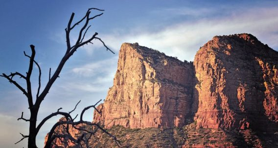 jagged rock fortresses of nature, in arizona