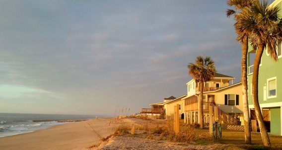beach on an island in South Carolina