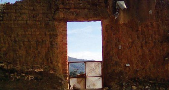 ruins in real de catorce