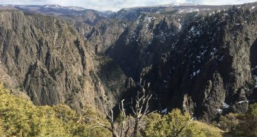 a deep, if not one of the deepest, canyons