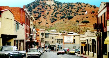 Main Street in downtown Old Bisbee, circa 1990